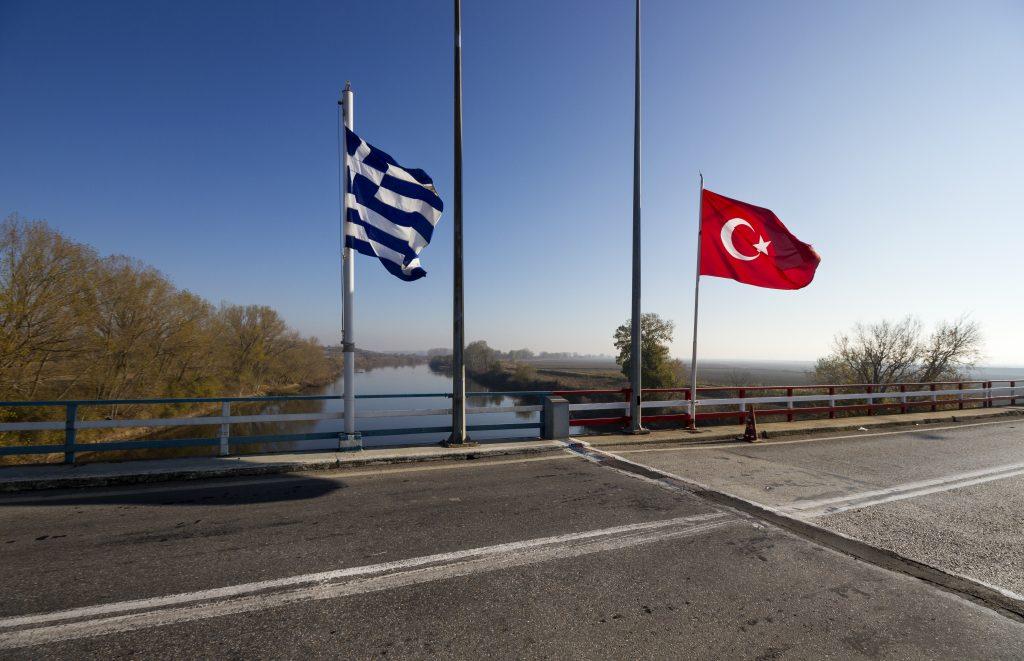 Grčka - Turska, zastave