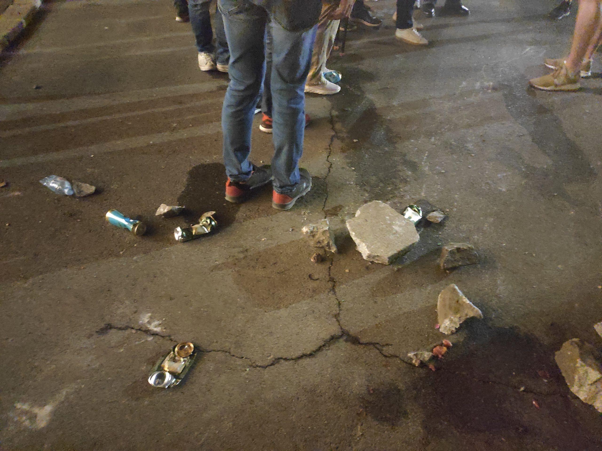 kamenice na protestima