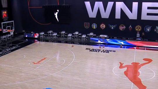 Prazan teren kao borba protiv rasizma u WNBA
