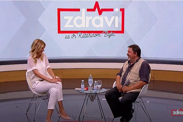 Zdravi sa dr Katarinom Bajec: Tema - Letnje sezonske infekcije gost milan lane Gutovic