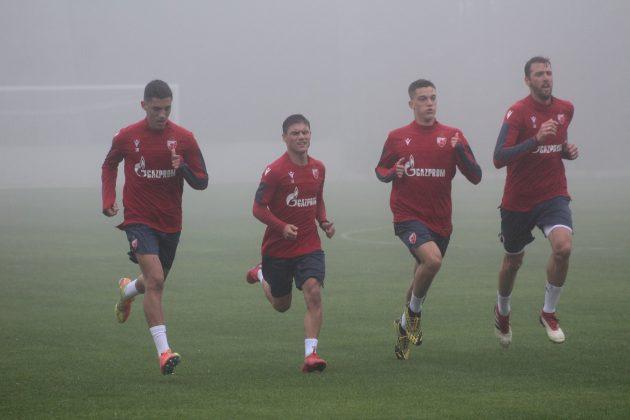 Mitrović i Babić na treningu prvog tima