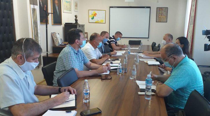 saopštenje - sastanak- ministar Šarčevic- sindikati