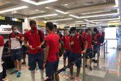 Fudbaleri Zvezde otišli su u Tiranu