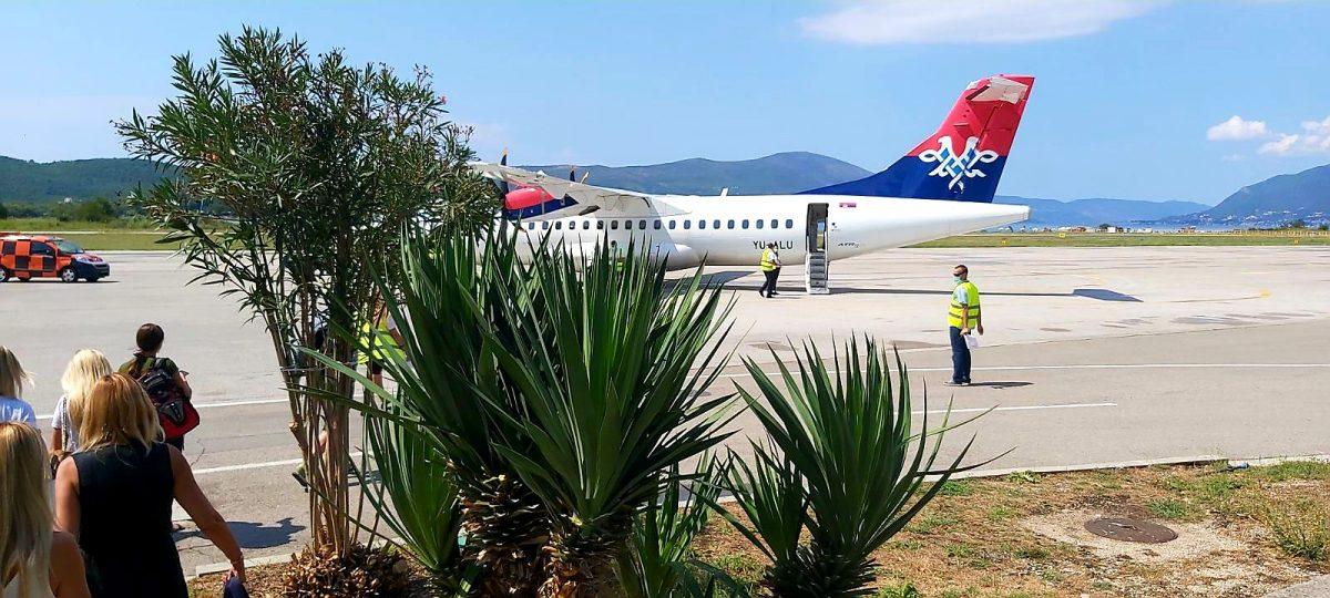 Letovi ka Crnoj Gori