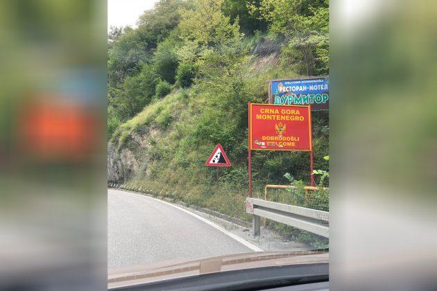 Crna Gora granica