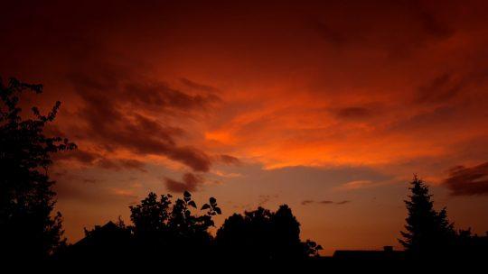 Prelepe nijanse neba nad Beogradom