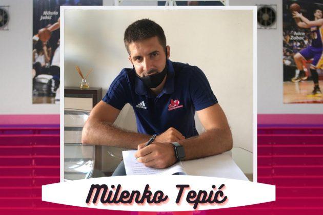 Milenko Tepić i zvanično je postao košarkaš Mega Bemaksa