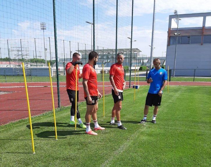 Mitrović, Kolarov i Radunović treniraju u Sportskom centru FSS u Staroj Pazovi
