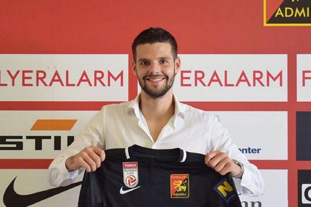 Nikola Pejović prešao je iz Lokomotive Zagreb u austrijsku Admiru