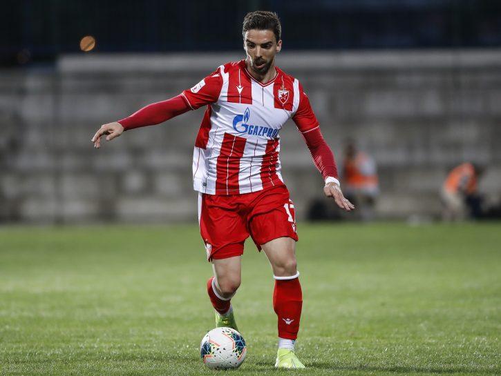 Antonio Tomane kontroliše loptu tokom utakmice