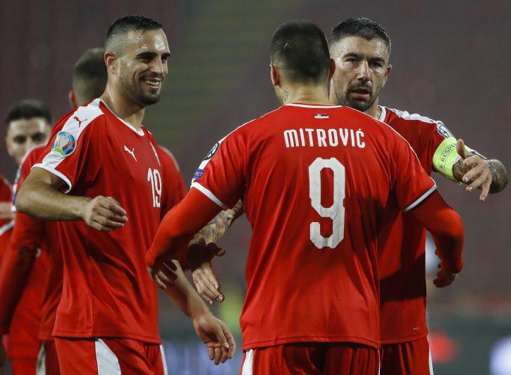 Srbija Mitrović Kolarov Maksimović