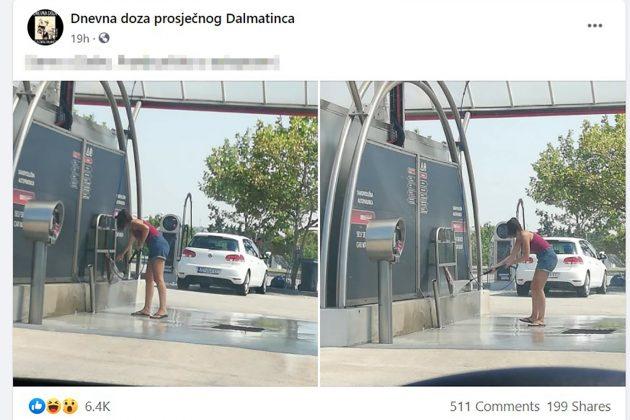 pranje pršute u autoperionici