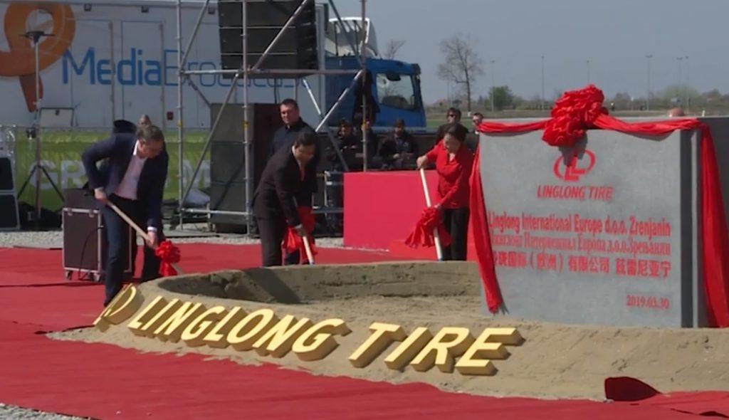 Linglong (nazivaju je i Šandong Linglong), Zrenjanin