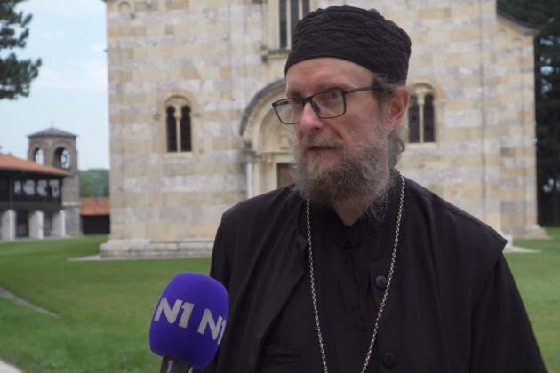 Iguman manastira Visoki Dečani Sava Janjić