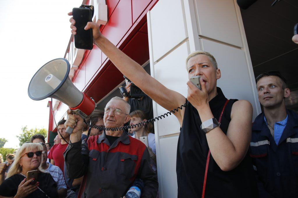 Minsk protesti