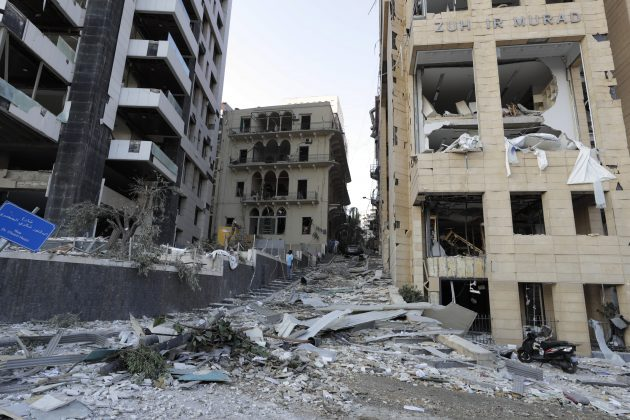 Liban, Bejrut, Eksplozija