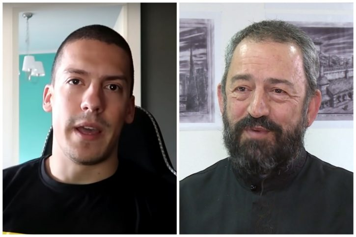 Baka Prase, otac Nenad Ilić kombo