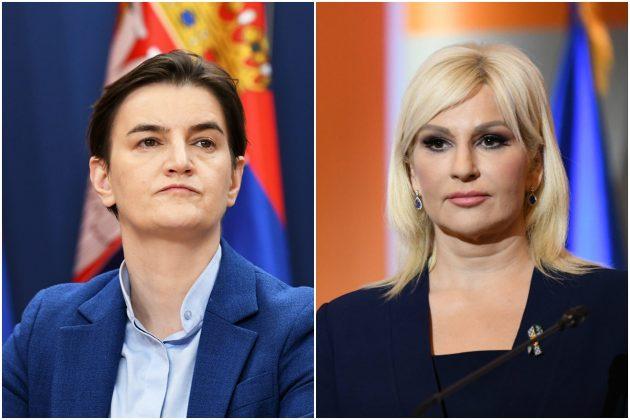 Ana Brnabić, Zorana Mihajlović kombo