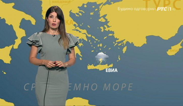 Vremenska prognoza Evija i Krit