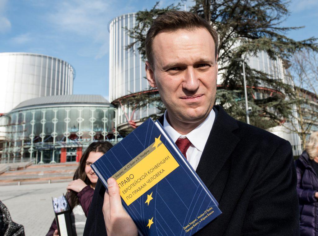 Evropski sud za ljudska prava Strazbur, Navaljni
