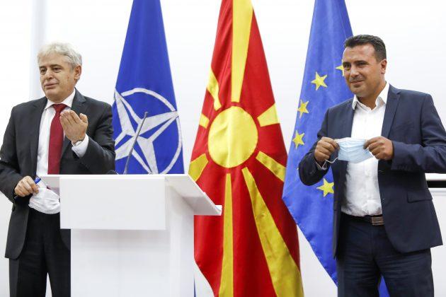 Ali Ahmeti , Zoran Zaev