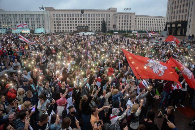 Minsk, Belorusija, protest