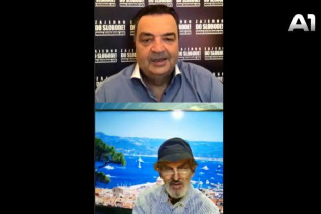 Duško Knežević i Svetozar Marović