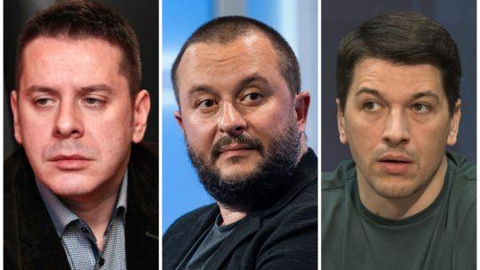 Vlado Georgiev, Ivan Ivanovic, Viktor Savic