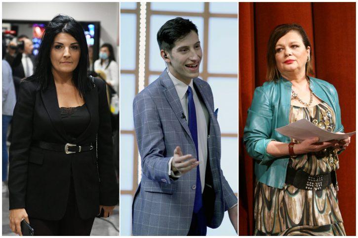 Milena Ivanovic, Lav Pajkic i Jelica Sretenovic