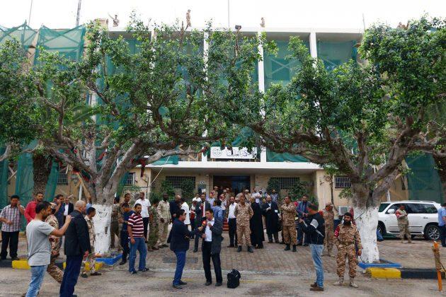 Libija, sud