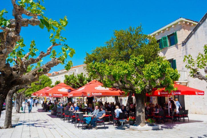 kafić; Hrvatska