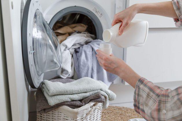 omekšivač; pranje veša