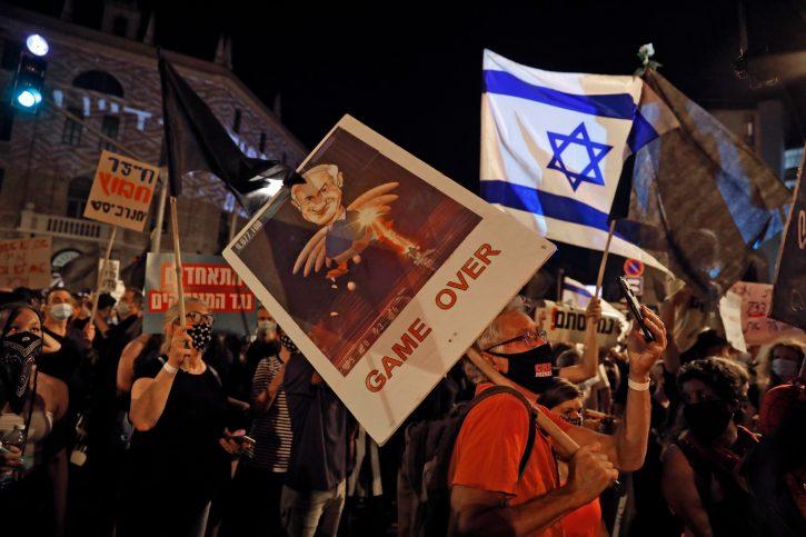 Jerusalim protest