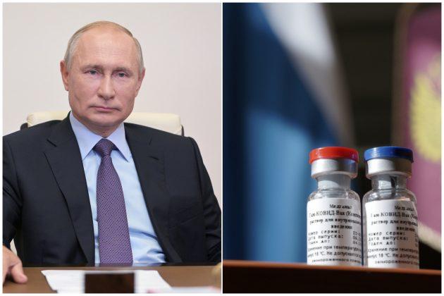 Vladimir Putin i vakcina