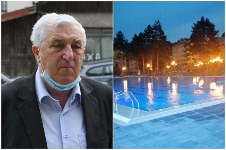 Rados Milovanovic i bazen