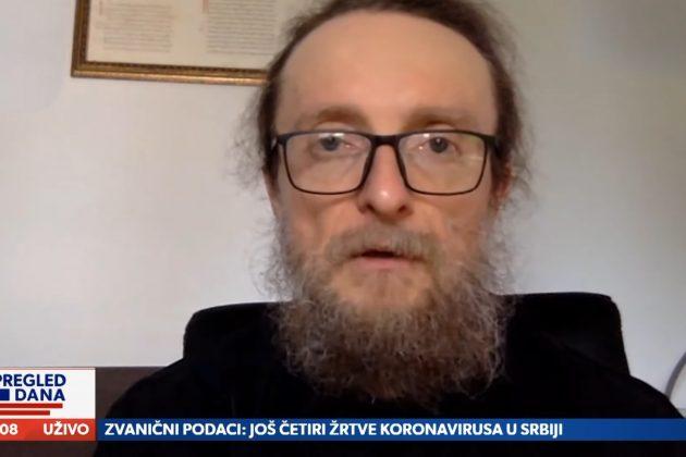 Iguman Sava Janjić u emisiji Pregled dana
