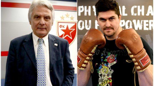 Dušan Savić i Darko Miličić poziraju