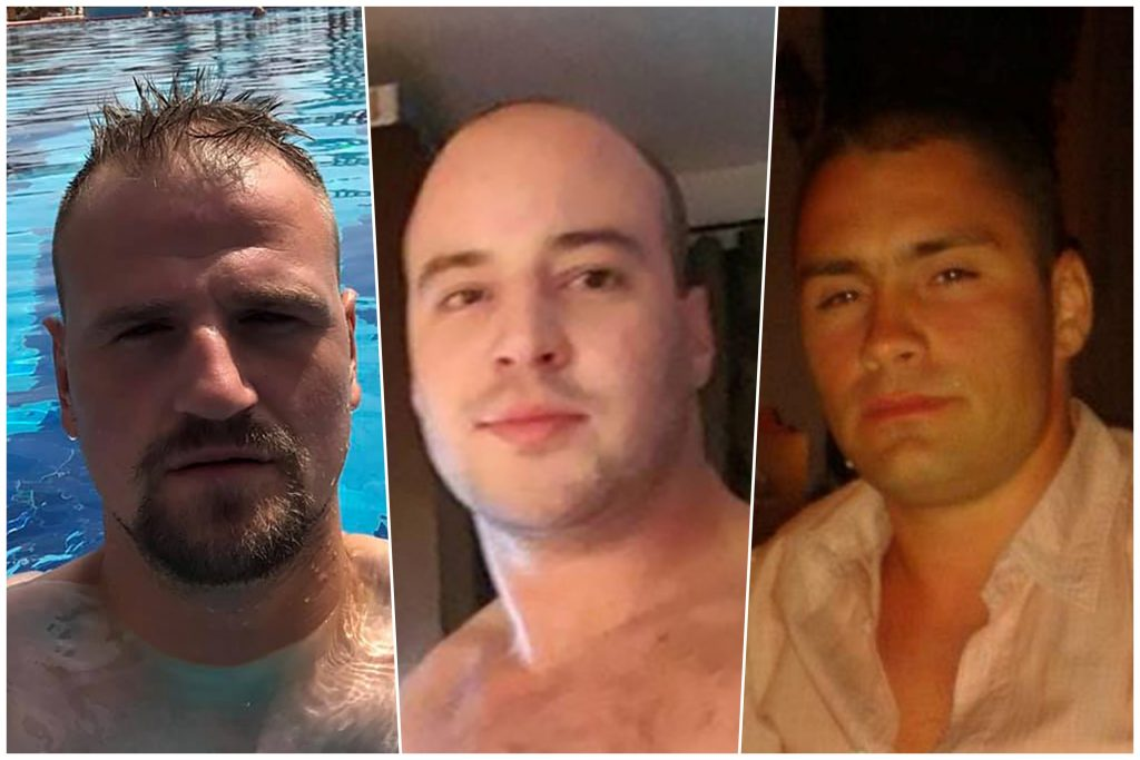 Igor Vrevic, Aleksandar Nikolic i Milos Misljen