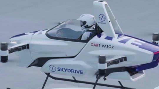 Leteći automobil