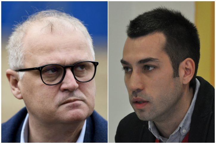 Goran Vesic i Dobrica Veselinovic