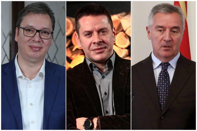 Aleksandar Vucic Vlado Georgiev i Milo Djukanovic