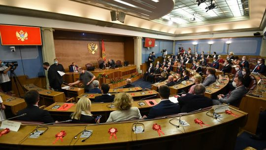 nova vlada crne gore
