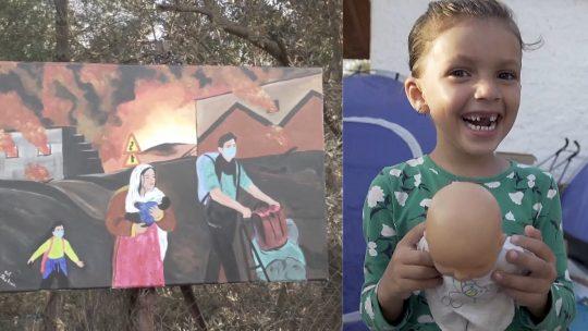 Pomoć stiže na Lezbos, osmeh se vraća na dečija lica
