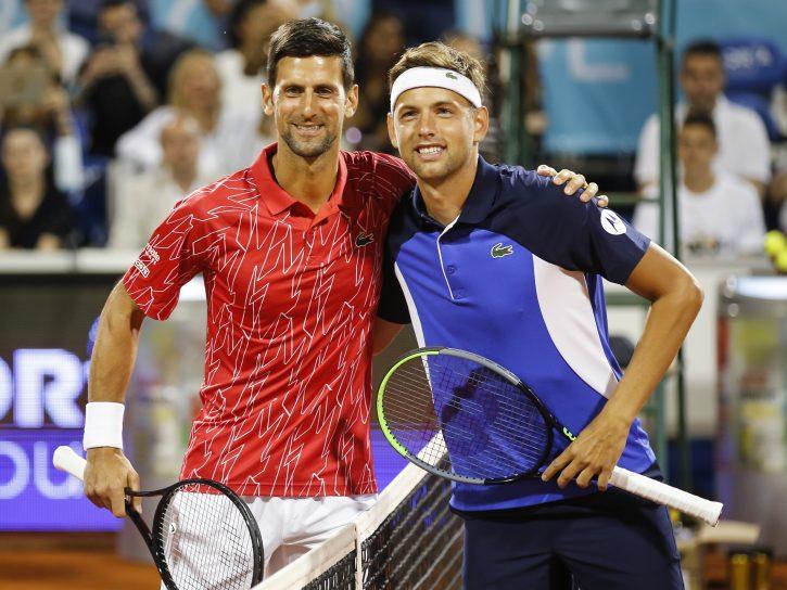 Đoković i Krajinović igraju ne pre 14 sati u Rimu, posle će na teren Lajović i Nadal