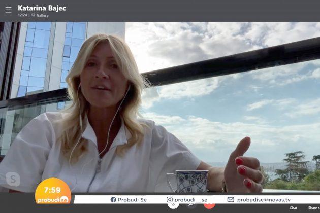 Katarina Bajec u emisiji Probudi se