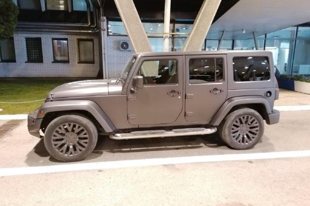 Skupoceni Jeep Wrangler zadržan na Gradini