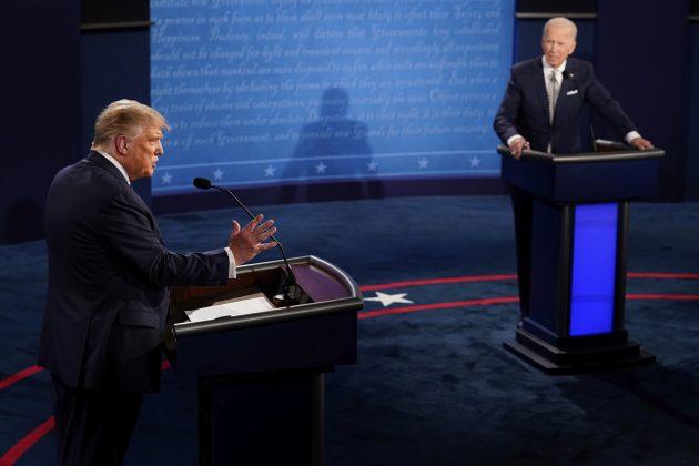 Jedna od najčudnijih debata u istoriji američkih izbora: Tramp protiv Bajdena