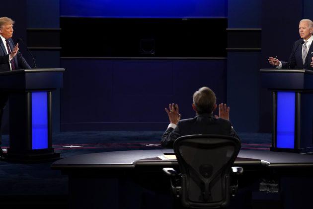 Tramp i Bajden na prvoj debati