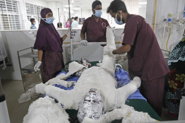Banglades eksplozija