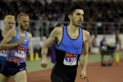 Atletičar Elzan Bibić trči trku na 5.000 metara